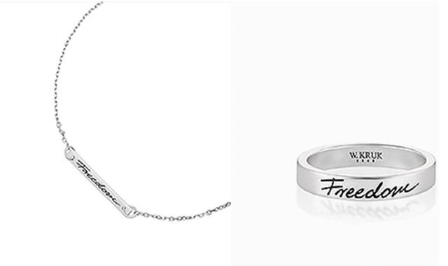Freedom Srebrna Biżuteria