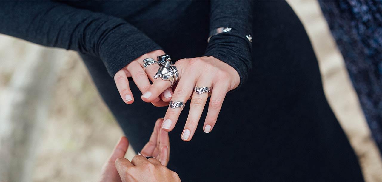 Srebrna Biżuteria - Wilk