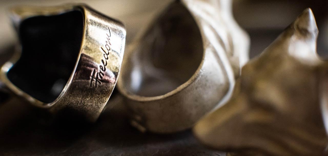 Freedom - Biżuteria srebrna Martyna Wojciechowska