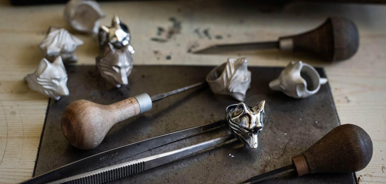 Wilk - srebrna biżuteria W.KRUK