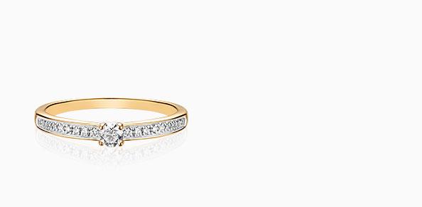 Pierścionki zaręczynowe Szczęśliwy