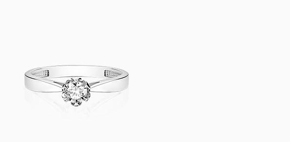 Pierścionki zaręczynowe Romantyczny