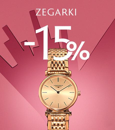 Zegarki -15%