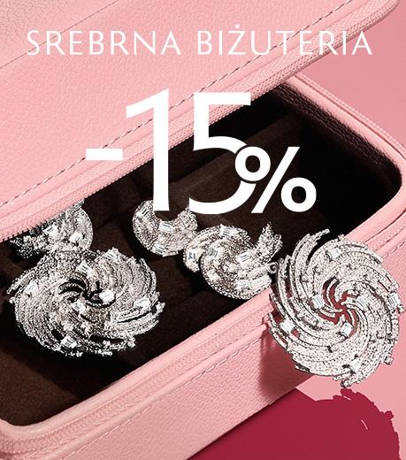 Srebrna biżuteria -15%