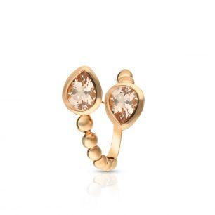Pierścionek różowe złoto Casato ZTT/PB+143R