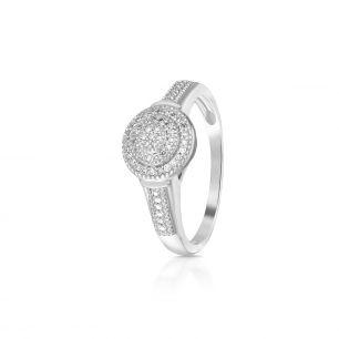Pierścionek z diamentami ZCG/PB+999B