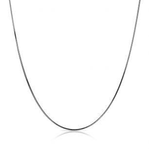 Łańcuszek srebrny żmijka SCR/LS016C