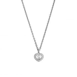 Naszyjnik białe złoto Happy Diamonds Chopard ZPD/NB+06B
