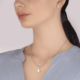 Wisiorek srebrny serce z cyrkoniami SGR/WC330