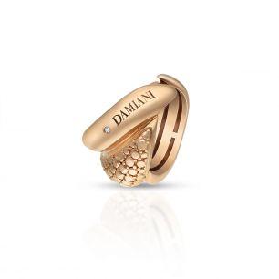 Pierścionek różowe złoto DAMIANI ZII/PB+37R