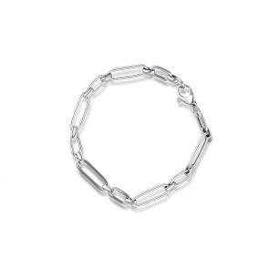 Bransoleta srebrna W.KRUK SSX/AS396