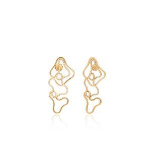 Kolczyki różowe złoto ENRICO CAPRA ZCR/KB+103R