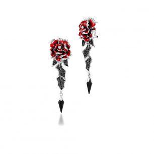 Kolczyki róża Kwiaty Nocy SDL/KC062