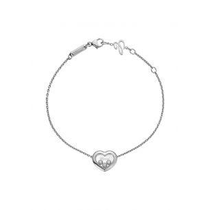 Bransoletka białe złoto Happy Diamonds Chopard ZPD/AB+07B