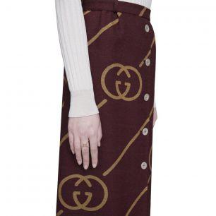 Pierścionek złoty Gucci ZUC/PB+31