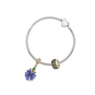 Zawieszka srebrna Kwiaty Nocy SDL/HC221Z