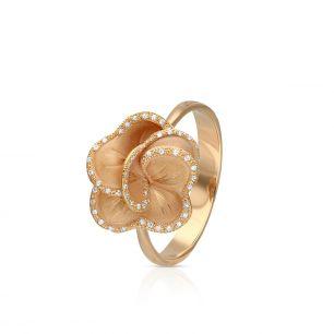 Pierścionek różowe złoto Anna Maria Cammilli ZMM/PB+131R