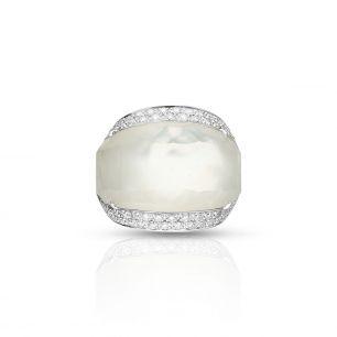 Pierścionek białe złoto ENRICO CAPRA ZCR/PB+13B