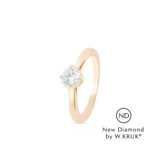 Pierścionek zaręczynowy złoty Doskonały XWK/PB-03