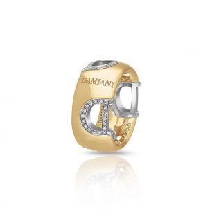 Pierścionek złoty bicolor Damiani ZII/PB+36BK