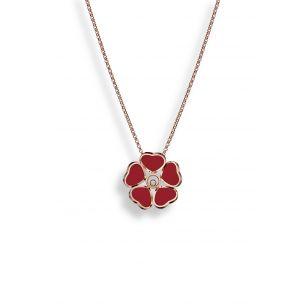 Naszyjnik różowe złoto HAPPY HEARTS Chopard ZPD/NB+72R
