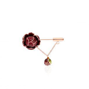 Broszka srebrna Kwiaty Nocy SDL/BS044R