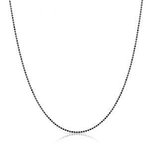 Łańcuszek srebrny splot kulka SCR/LS001C
