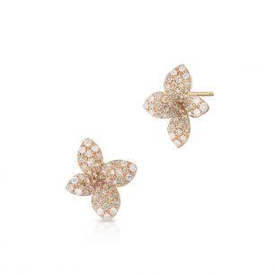 Kolczyki różowe złoto Pasquale Bruni ZPB/KB+27R