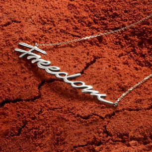 Naszyjnik srebrny Freedom WWK/NS1492