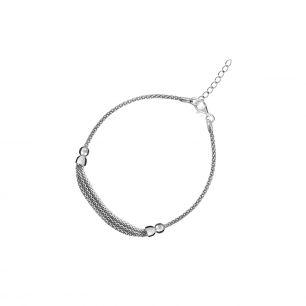 Bransoleta srebrna W.KRUK SIT/AS068