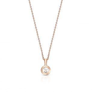 Naszyjnik różowe złoto HAPPY DIAMONDS Chopard ZPD/NB+02R