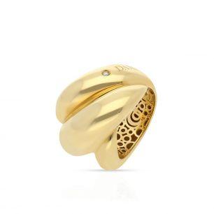Pierścionek złoty DAMIANI ZII/PB+39