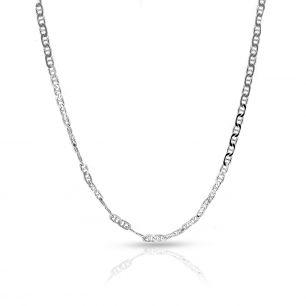 Łańcuszek srebrny figaro SCR/LS067