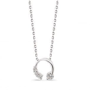Wisiorek srebrny z cyrkoniami STD/WC107