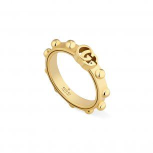 Pierścionek złoty Gucci ZUC/PZ38