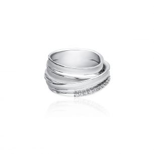 Pierścionek białe złoto ANNA MARIA CAMMILLI ZMM/PB+110B