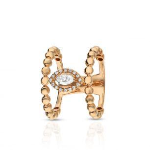 Pierścionek różowe złoto Casato ZTT/PB+150R