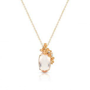 Naszyjnik różowe złoto ANNA MARIA CAMMILLI ZMM/NB+34R /I
