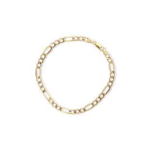 Bransoleta złota figaro ZUN/AF01