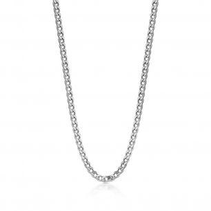 Łańcuszek srebrny pancerka SCR/LS065