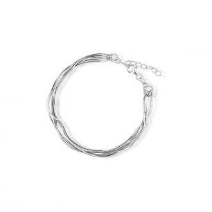 Bransoleta srebrna W.KRUK SSX/AS398