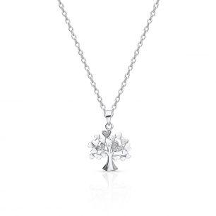 Wisiorek srebrny drzewo SHX/WC379