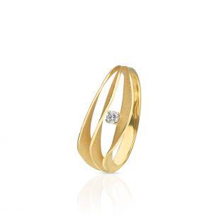 Pierścionek złoty ANNA MARIA CAMMILLI ZMM/PB+119
