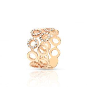 Pierścionek różowe złoto ENRICO CAPRA ZCR/PB+80R
