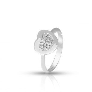 Pierścionek białe złoto ALFIERI&ST. JOHN ZEA/PB+183B