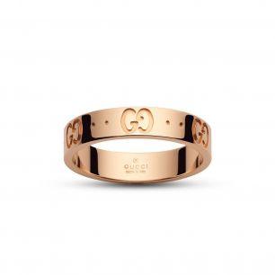 Pierścionek różowe złoto Gucci ZUC/PZ42R