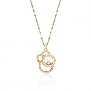 Wisiorek różowe złoto Happy Diamonds Chopard ZPD/WB+33R