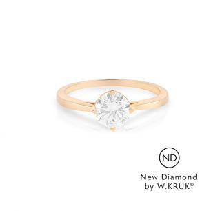 Pierścionek zaręczynowy złoty Doskonały XWK/PB-04