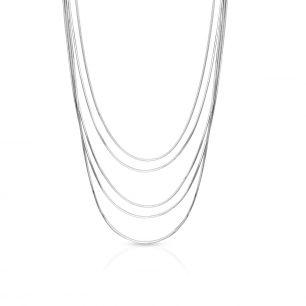 Naszyjnik srebrny kaskadowy SSX/NS398