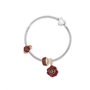 Zawieszka srebrna Kwiaty Nocy SDL/HC225Z